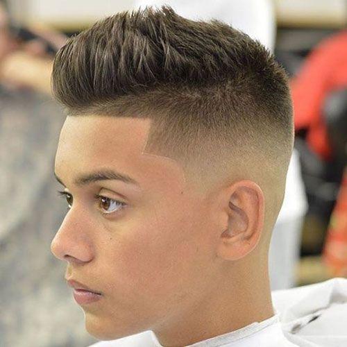 Spiky Hair + Shape Up + High Skin Fade