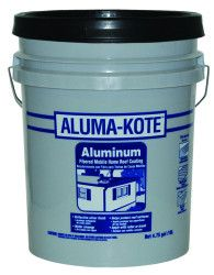 Aluma Kote Fibered Aluminum Mobile Home Roof Coating 5
