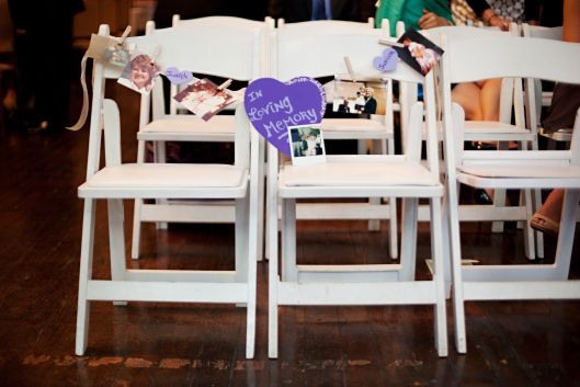 Remembering deceased loved ones at your wedding