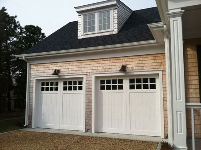 134 best sandpiper exterior homes images on pinterest for Cape cod garage
