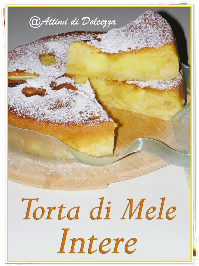 TORTA DI MELE INTERE