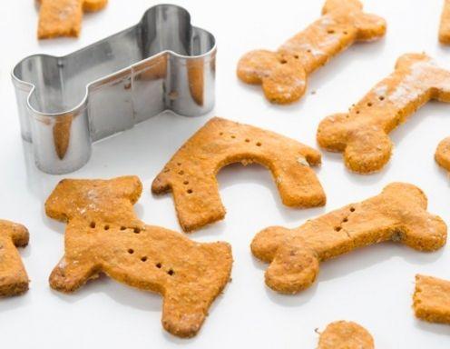 Hundekekse mit Hüttenkäse