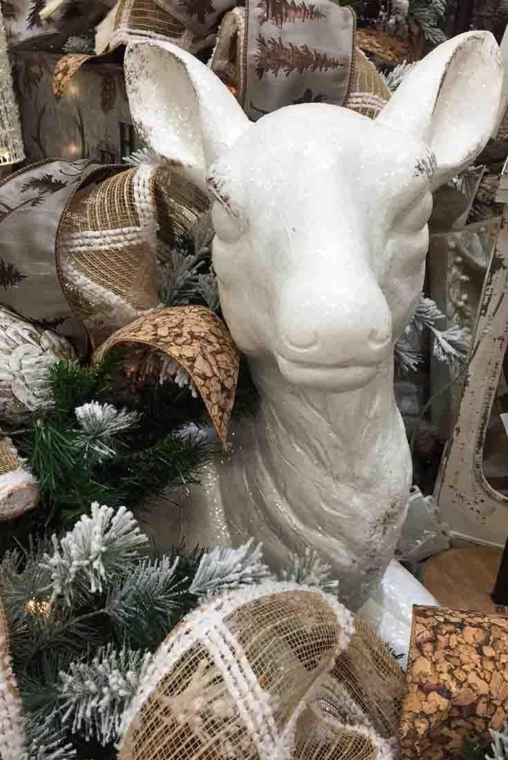 White Deer Arrangement @ Trees N Trends Www.treesntrends.com Part 67
