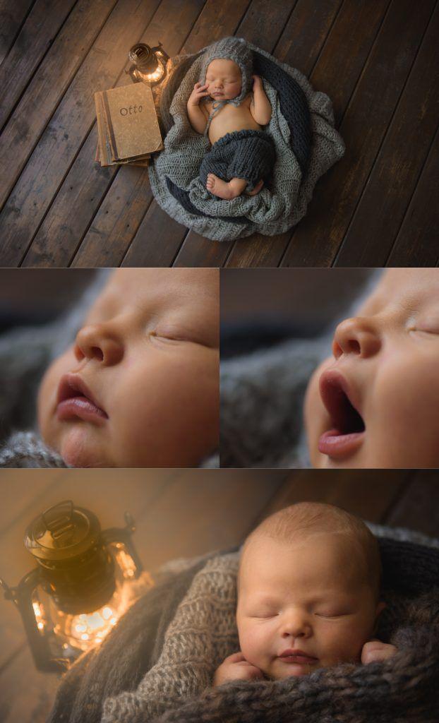 Newborn photography with photographer Maria Lindberg. Newborn photography by Swedish