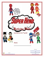 Super Hero Activity Unit