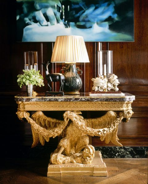 Top 25 ideas about the jet set on pinterest billionaire - Table console blanche ...
