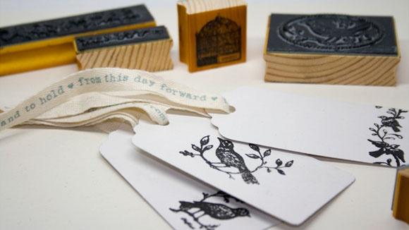 LoveBird Stamp Set from @TeacupWedding