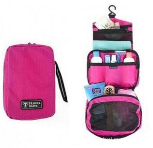 Travel Hanging Toiletry Bag Large Kit Folding Makeup Organizer for Men    Women  eb7ed4dc10eb9