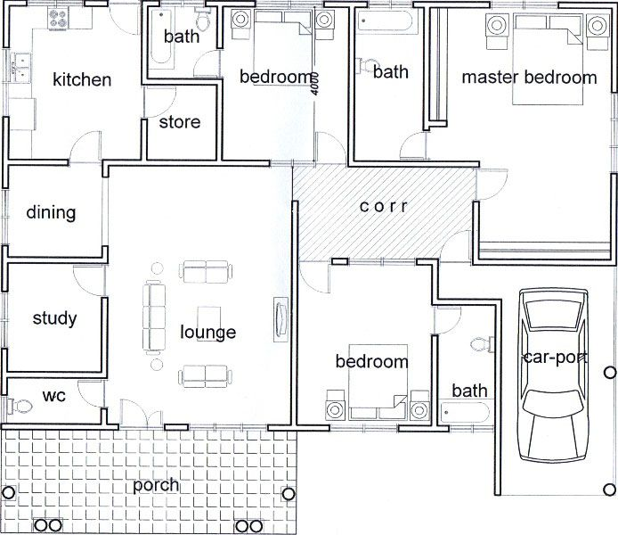 Most Award Winning Real Estate Company Koans Estate Little House Plans My House Plans Model House Plan