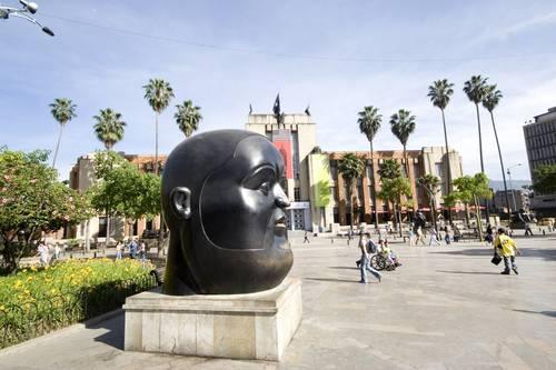 Medellin, Ant. Escultura de Botero