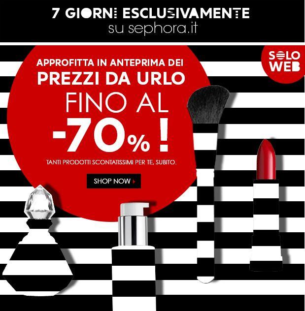 [News] Sephora - Prezzi da Urlo! Estate 2014