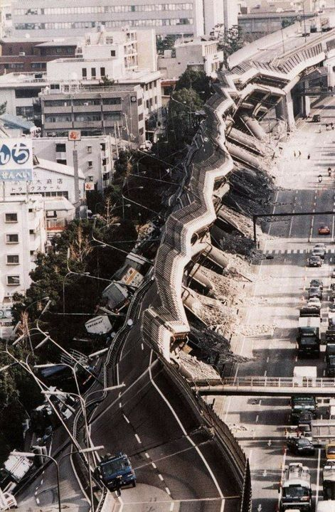Earthquake in Japan.