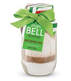 jingle bell brownies mix