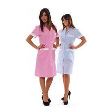 Grembiule Camice Casacca Donna lavoro Alimentare Alberghiero Abbigliamento Abiti
