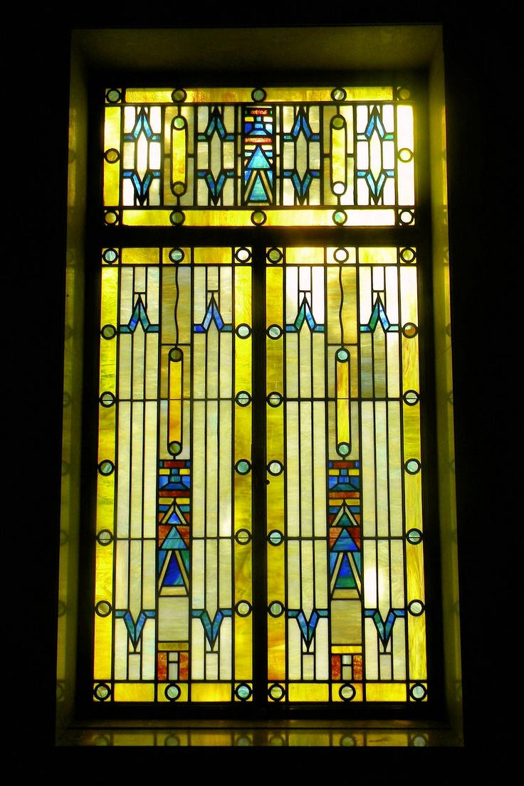 144 best stained glass window ideas images on pinterest for Art deco glass windows