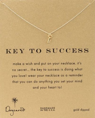 """Key To Success"" Pendant Necklace. Graduation gifts for girls #giftsforgrads Graduation gifts"