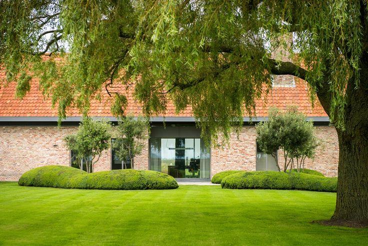 25 beste idee n over buxus tuinieren op pinterest oprit landschapsarchitectuur stoep - Landschapstuin idee ...