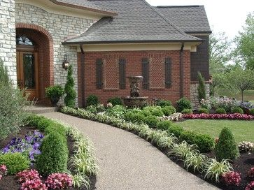 front landscapes traditional landscape cincinnati by lichtenberg landscaping inc