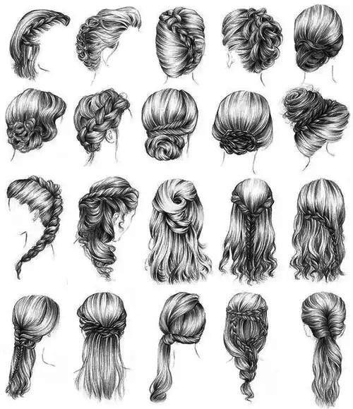 Amo esses cabelos