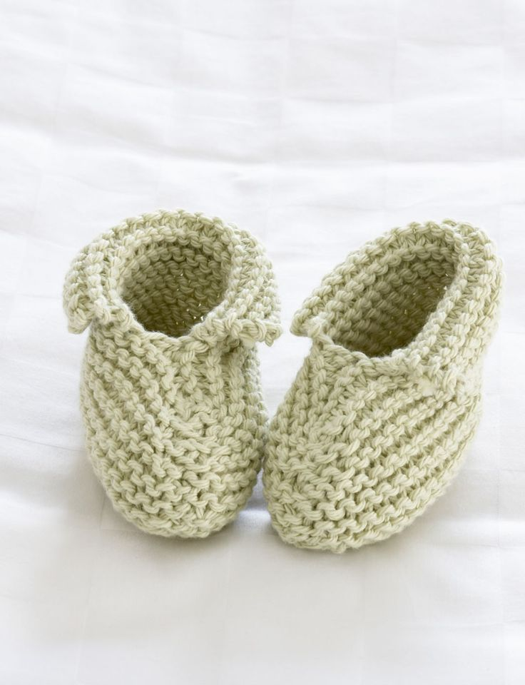 Easy Baby Booties Knit Pattern : 1000+ images about Baby Booties/Shoes on Pinterest Crochet baby, Ravelry an...