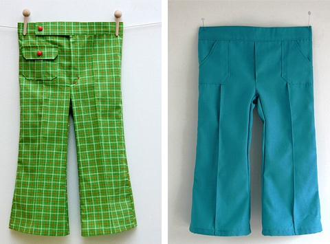 sew some groovy boys' pants kooppatroon van katoen