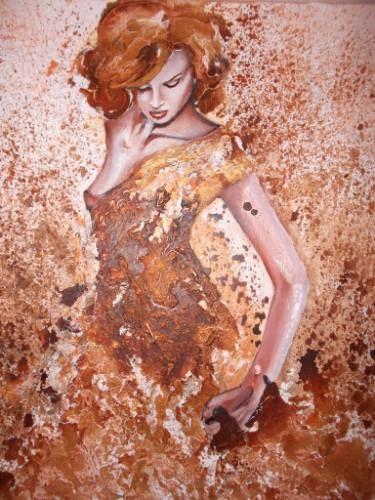 "Saatchi Art Artist Donatella Marraoni; Painting, ""Dance with me"" #art"
