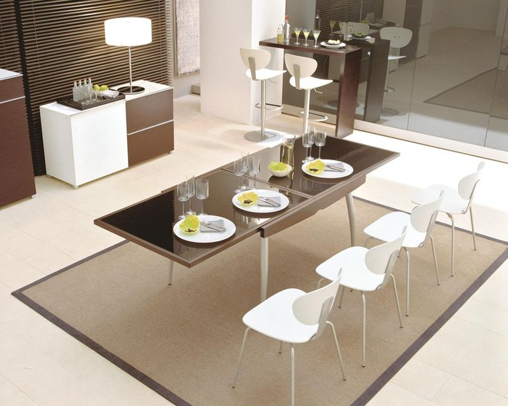 The Design Contemporary Dining Room Sets - http://www.amazadesign.com/the-design-contemporary-dining-room-sets/
