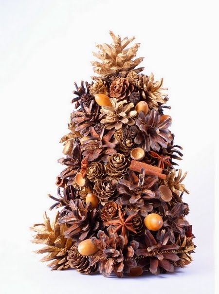 Relasé: Albero di Natale di pigne profumato del bosco - un'idea Fai da Te in soli 3 passi! Ispirazioni...