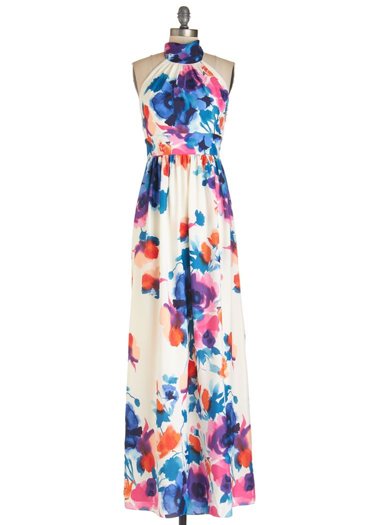 A Classy of Its Own Dress in Floral, #ModCloth