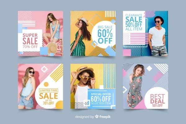 Instagram Feeds Fashion Untuk Wanita Promosi Digital Marketing Konten Edukasi Instagram Desain Pamflet Desain Brosur