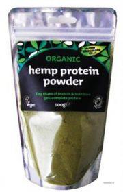 Organic Raw hamp pulver til din smoothis - set hos helsehelse.dk