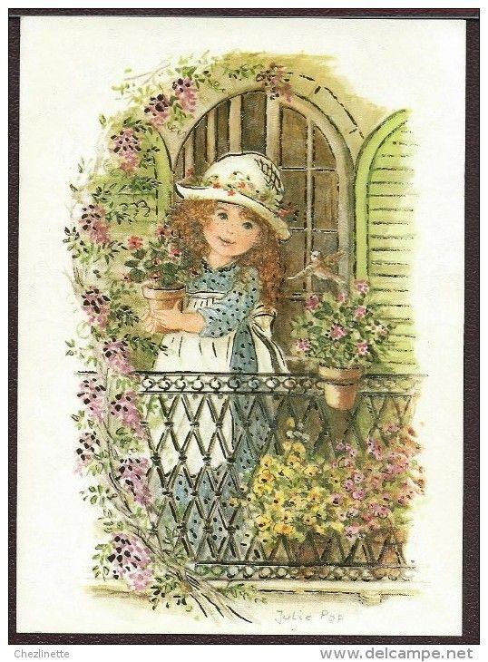 Cartes Postales / julie pop - Delcampe.fr | Carte postale, Cartes postales anciennes, Postale