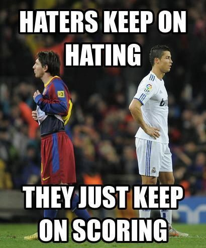 messi vs ronaldo lol -  #messi  #christiano  football  #real madrid