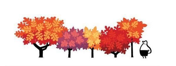 Equinoccio de otoño, el nuevo doodle de Google