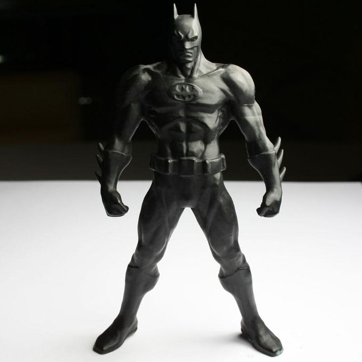 Batman realizzato con stampante 3D envisionTEC