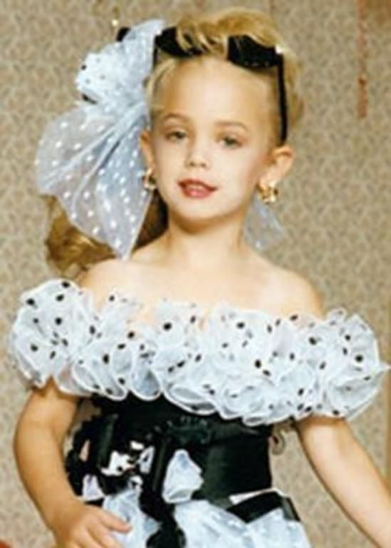 Jon Benet Ramsey was a child pageant queen who was brutally murdered in her Colorado home in 1996. Description from pinterest.com. I searched for this on bing.com/images