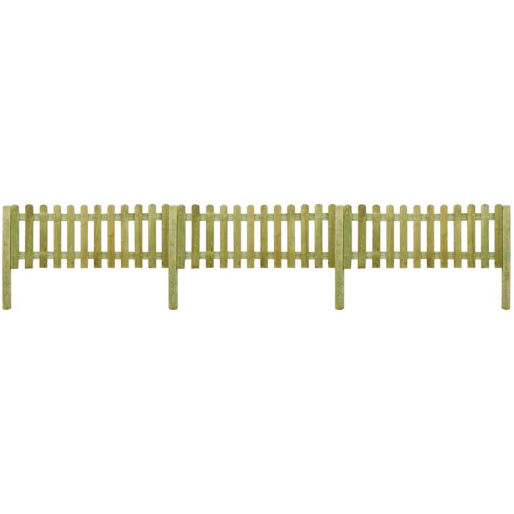 Picket Fences Are So Traditional In The Garden Which Makes Them Excellent  At Doing Their Job