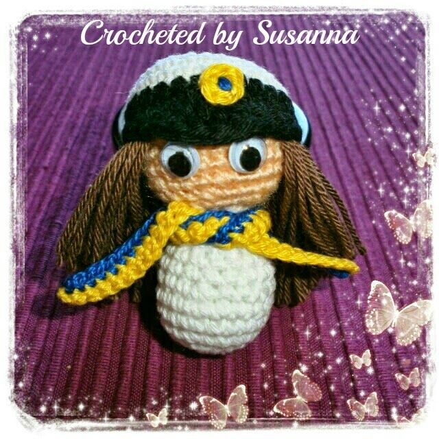 Crochet Swedish Student - Virkad Student - Crocheted by Susanna