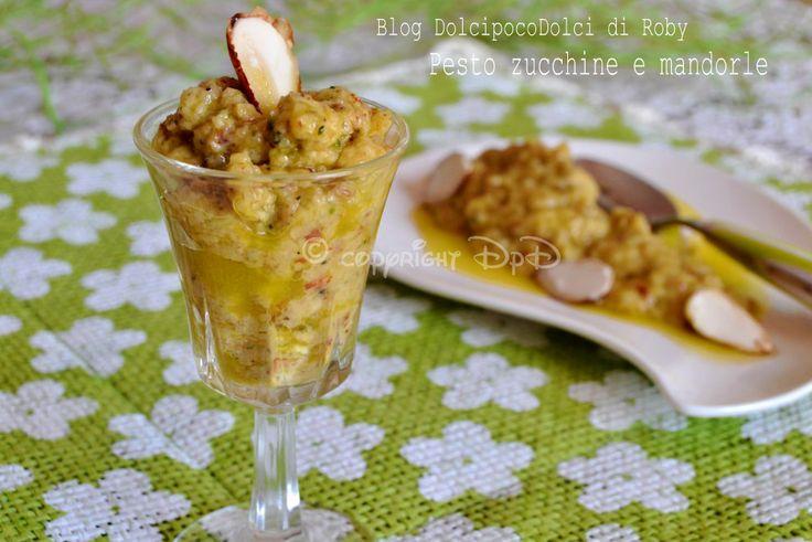Pesto zucchine e mandorle