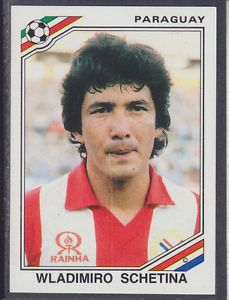Image result for mexico 86 panini paraguay