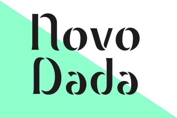 Novo Dada by NovoTypo on @creativemarket