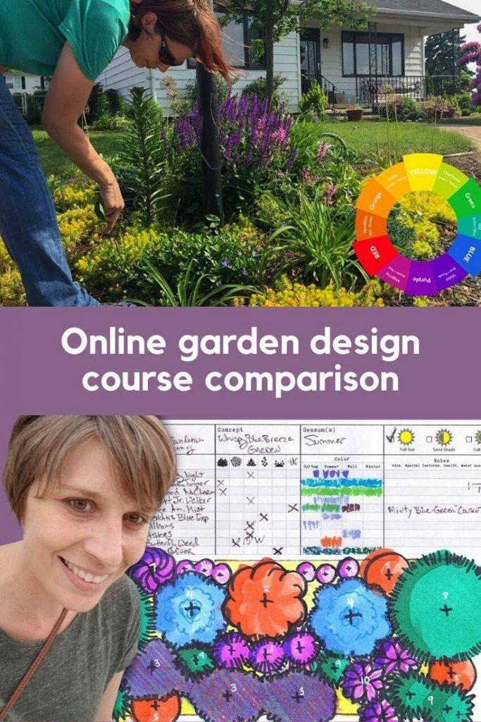 Gardening Online Course Comparison Garden Planning 101 Vs Design Your 4 Season Garden Course Pretty Purple Door Garden Planning Garden Online Landscape Plans