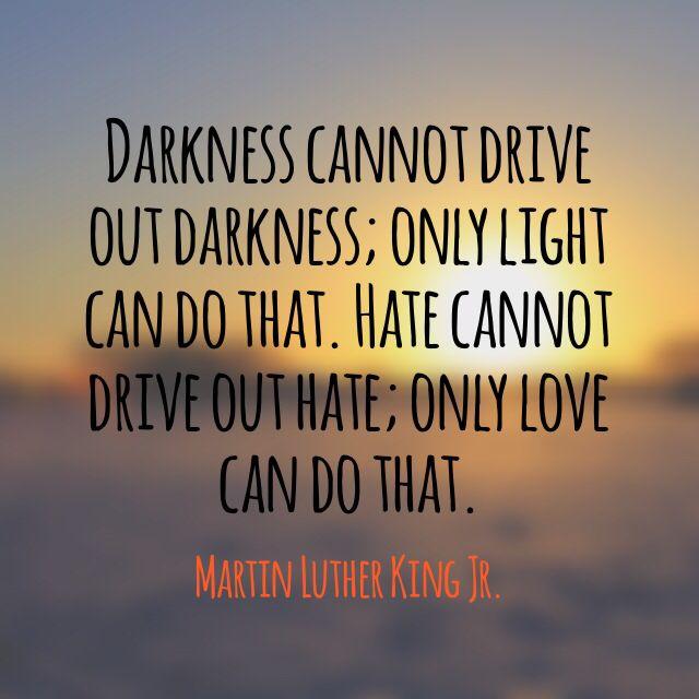 MLK: Darkness and light