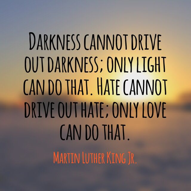 MLK: Darkness and light