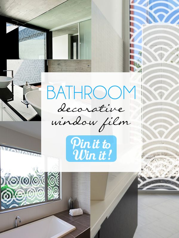 8 best bathroom decorative window film images on pinterest for Bathroom design hashtags