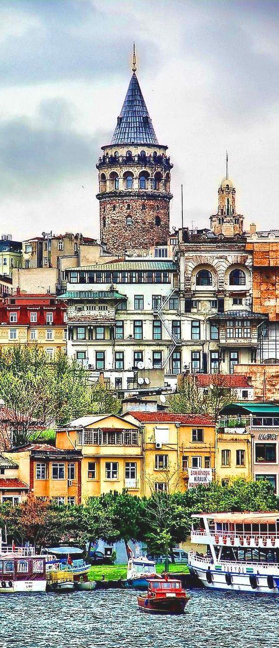 Galata tower, Istanbul, Turkey #creativelolo #art …
