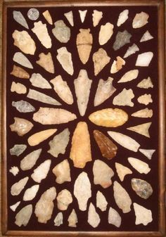 Arrowheads on Pinterest | North America, Indian and Hunting