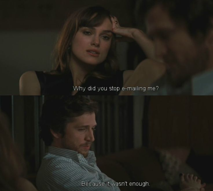 Guillaume Canet and Keira Knightly in the film {Last Night}