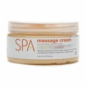 Spa Organics Massage Cream, Mandarin + Mango