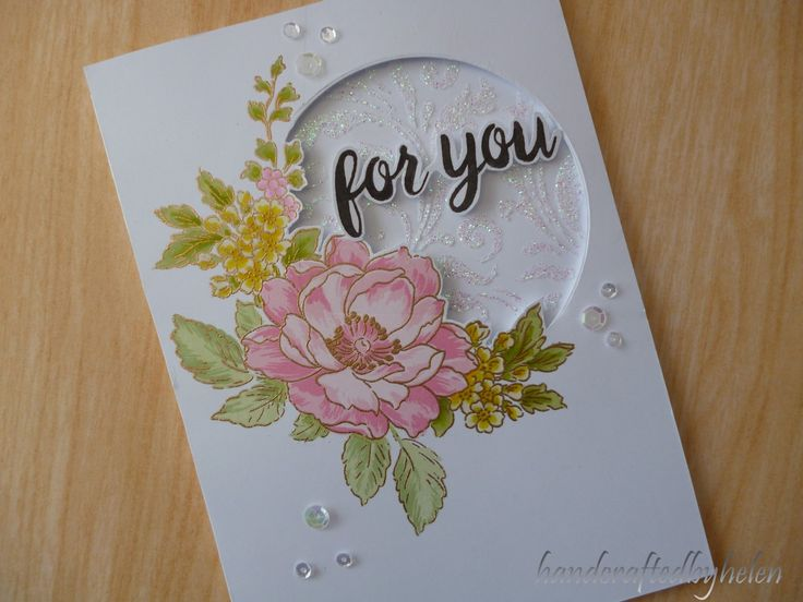 I have made my first card using the new stamp I have just got called Beautiful Day by Altenew. It is such a gorgeous stamp.     I did the ...